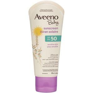 Aveeno BabyZinc Oxide Mineral Sunscreen spf 50